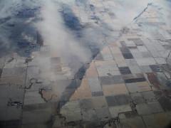 Line over Potter County (Sotosoroto) Tags: aerial snow southdakota pottercounty farmland cloud