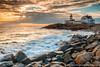 Eastern Point Lighthouse (dennisforgione) Tags: gloucester lighthouse atlantic ocean sunset easternpoint waves coastal sea massuchusetts seascape rocks coast rockycoast easternpointlighthouse