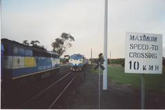 S302 B76 Camperdown? (tommyg1994) Tags: west coast railway wcr emd b t x a s n class vline warrnambool geelong b61 b65 t369 x41 s300 s311 s302 b76 a71 pcp bz acz bs brs excursion train australia victoria freight fa pco pcj