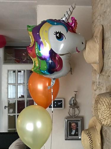 Folieballon Unicorn