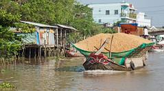 IMG_6435 (briancarrollphotos) Tags: vietnam boattraffic mekongdelta cargoboat riverboat