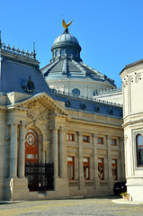 Romanian Orthodox Patriarchal Cathedral (Gedsman) Tags: romania europe bucharest wallachia history historical tradition traditional capital beauty travel blueskies modern architecture