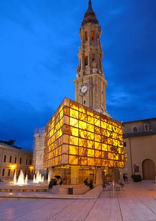 Museo del Foro y torre de la Seo, Zaragoza