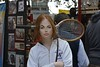 Creative Head Bands (Scott 97006) Tags: woman redhead female lady novelty racquet tennis