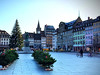 Place Kleber, the largest square in Strasbourg, France (Viking Cruise Excursion). (MyLastBite) Tags: viking vikingcruise strasbourg france rivercruise rhineriver christmasmarkets