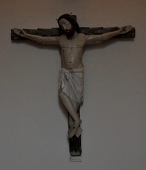Astorga (León). Museo de los Caminos. Cristo, siglo XIII. Procede de Lagunas de Somoza (santi abella) Tags: astorga león castillayleón españa museodeloscaminos palacioepiscopaldeastorga
