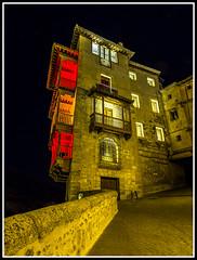 Paseando por Cuenca (edomingo) Tags: edomingo olympusomdem10 mzuiko1240 cuenca casascolgadas nocturna arquitectura