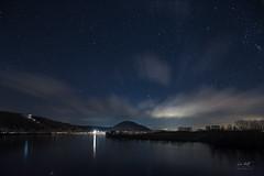 Starry Winter Night (markus_langlotz) Tags: sky night nacht sterne stars starry sternklar nightscape river water danube donau bayern bavaria