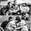 """Arm Wrestling (FotoFling Scotland) Tags: """"arm wrestling """" games kilt male sport collage"""