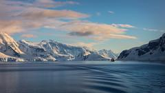 Voyage - Anvers Island, Antarctic Peninsula (alejandro.romangonzalez) Tags: antarctica antarcticpeninsula britishantarcticsurvey anversisland landscape seascape sea southernocean outdoors bas research ship mountains clouds coast coastal