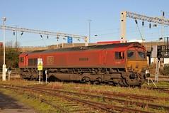 66066 'Geoff Spencer' Bescot Depot (Paul Baxter 362) Tags: class66 66066 geoffspencer dbcargo dbc dbschenker dbs bescot bescottmd bescotyard grandjunctionroute