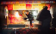 Steamlight (jgottlieb) Tags: hongdae seoul south korea chicken skewers fish cakes korean won cooking eating steam light leica mp typ 240 summilux 35mm fle