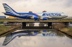 "National airlines cargo at Schiphol • <a style=""font-size:0.8em;"" href=""http://www.flickr.com/photos/125767964@N08/25232150207/"" target=""_blank"">View on Flickr</a>"