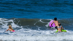 In the Surf (Kevin MG) Tags: ca losangeles usa willrogers beach ocean sand water willrogersbeach girls young youth cute pretty little
