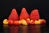 Strawberries and chili peppers (Darea62) Tags: strawberry chilipepper fruit food stilllife fragola peperoncino naturamorta