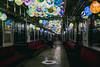 (shoshibata) Tags: train night snap winter snow aomori japan 弘南鉄道 fujifilm x100f