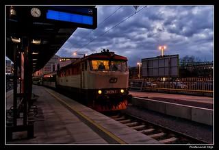 ČD_749 170-7_Hlavní nádraží_Main Station_Praha 2_Vinohrady_Czechia