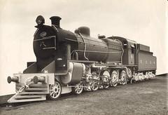 Ferrocarril Central Argentino - FCCA Class CS7 4-8-0 steam locomotive Nr. 622 (Robert Stephenson Locomotive Works 7362/ 1948) (HISTORICAL RAILWAY IMAGES) Tags: steam locomotive rsh robertstephenson fcca ferrocarril central andino 480 1948 peru