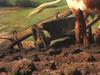 BONHEUR Rosa,1849 - Labourage nivernais, Le Sombrage (Orsay) - Detail 35 (L'art au présent) Tags: art painter peintre details détail détails detalles 19th 19e painting paintings peinture peintures peinture19e 19thcenturypaintings 19thcentury tableaux orsay museum frenchpainters peintresfrançais nature figures figure ox boeufs boeuf oxes animal animals animaux agriculture labourage labour country campagne terre earth herbe grass man hommes peasant paysan chapeau hat