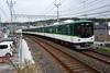 Keihan Railway 10005, Rokujizo (Keihan Uji Line) (Howard_Pulling) Tags: japan rail railway zug bahn train trains trainsinjapan japanese howardpulling photo picture gare