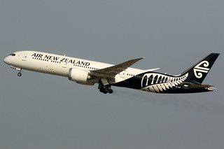Air New Zealand | Boeing 787-9 | ZK-NZF | Shanghai Pudong