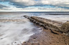 Hendon Beach (robinta) Tags: seaandsand water sea ocean seascape groyne architecture sand longexposure tide waves surf pentaxart pentax ks1 ngc sky clouds sunderland england pentaxdal1855mm