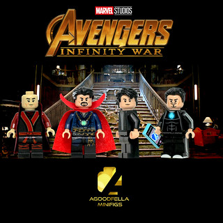 Avengers Infinity War (Sanctum Sanctorum)
