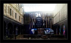 Série Espace Darwin - N°1 : Océans (Jean-Louis DUMAS) Tags: streetart street art ruines frame océan mer ocean lumière dxoone contrejour darwin artistic artistique artiste noir black environnement protectiondelanature nature ecologie bordeaux