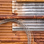 Rusted Corrugated Shed 5511 A thumbnail