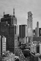 Way Downtown, NYC (FrankieJoseph) Tags: manhattan new york buildings urbanarchitecture urban street gotham mob mafia