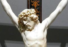 Crucifix, 1700-1730, Paul Heermann, Dresden (jacquemart) Tags: thevictoriaandalbertmuseum london crucifix 17001730 paulheermann dresden
