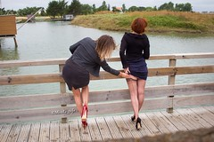 Love your straps ! ;) (normamisslegs) Tags: isabellecervain misslegs girls women duo complices friends elegancy frenchgirls amies glamour fashion basnylon bascouture seams seamstockings nylonstrümpfe nylonstockings legs élégante crazy fun nature france paysage canal heels highheels talons talonshauts tacones shoes escarpins fetish ffns garters upskirt