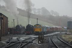 DSC04474 (Alexander Morley) Tags: churnet valley railway winter steam gala 2018 cvr cheddleton 6046 5197 s160