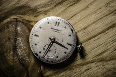 IMG_5530logo (Annie Chartrand) Tags: watch pocketwatch time clock macro movement numbers dial face hands stilllife antique old classic beaumont jewelry