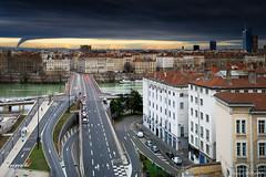 Pont de Lattre de Tassigny (Njones03) Tags: cityscape clouds france lyon nicolassavignat rhone sky town