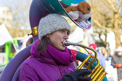Carnival Band @ 2018 Vancouver Chinese New Years Parade (Earker) Tags: vancouverbc vancouver vancouvercanada chinesenewyear chinesenewyears chinatown cny cny2018 2018 vancouverchinatown carnivalband china britishcolumbia 50mm canont3i canonrebelt3i yearofdog yearofthedog costume parade chinesecanadian chinesebenevolentassociation chinesebenevolentassn