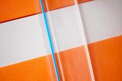 z i p l o c (CiaoMayonga) Tags: macromondays fasteners ziploc mayonga conceptualfoodphotography macro abstract geometric blueandorange