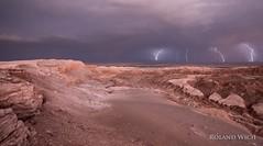 Atacama (Rolandito.) Tags: chile valle de la luna moon valley san pedro atacama chili south america thunder lightning landscape
