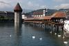 Luzern (Kapellbrücke, Wasserturm en Jesuitenkirche) (Rene_Potsdam) Tags: luzern kapellbrücke wasserturm jesuitenkirche schweiz suisse