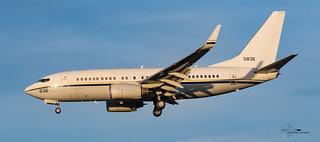 US Navy Boeing C40 Clipper