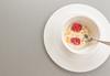 Morning treat (peggypryor68) Tags: 1122018 2018 bowl cy365 food honey indulgence january plate potd special spoon strawberry treat white yogurt