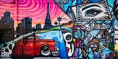 Carly's Bistro (Dennis Valente) Tags: streetarteverywhere usa muralist art contemporaryurbanart rrs streetart painting hdr isobracketing spraypaint 2017 5dsr urbanart artist reallyrightstuff painter muralart aerosol arizona wall phoenix streetartistry mural