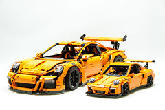 LEGO Porsche 911 GT3 RS (Malte Dorowski) Tags: technic 42056 lego porsche 2016 gt3 rs 991 911 carrera modelteam 117 118 116 racing speed racers expert foitsop car vehicle race auto sport