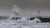 Fury (johnkaysleftleg) Tags: seaham storm stormy lighthouse waves roughseas wavecrash canon760d canonef70200mmf4lusm countydurham northeast england seascape northsea