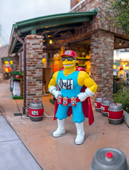 Universal - Duffman is Here To Refill Your Beer (Jeff Krause Photography) Tags: beer bokeh bokehpano duff man pano park simsons statue studios universal theme orlando florida unitedstates us