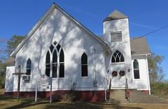 Fernwood United Methodist Church (Fernwood, Mississippi) (courthouselover) Tags: mississippi ms churches pikecounty fernwood northamerica unitedstates us