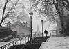 Sacré-Coeur, Paris (joeychiu) Tags: sacrécoeur paris street bw stairs montmartre snow winter nikon d7200 tamron 35mm evaair