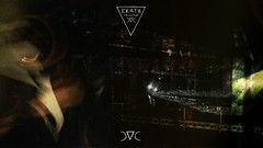r 4 i l p 3 c k____by Door#27 (EK4T3 COLLECTIVE) Tags: ek4t3 hypnosiswave materiaobscura door27 obscure peck night bird shadow magic rail railway railroad light darkness horror terrific nightmare experimental