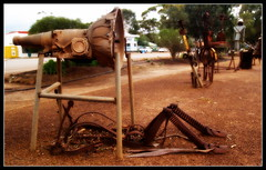 A good mechanic is hard to find... (bushman58929) Tags: hyden australia photograph bushman58929 olympus outback travel rusty crusty abstract art