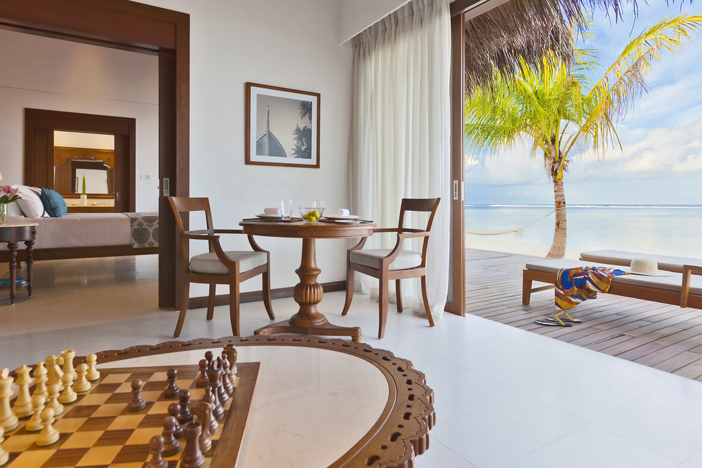 Beach Villa - Looking into the Bedroom